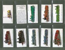 TRADE/ cigarette cards Railway Locomotive by Prescott Pickup